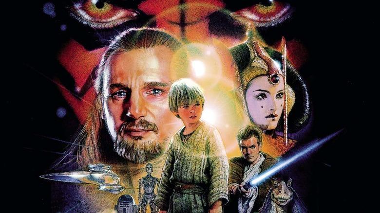 Movie poster for Star Wars Episode I: The Phantom Menace