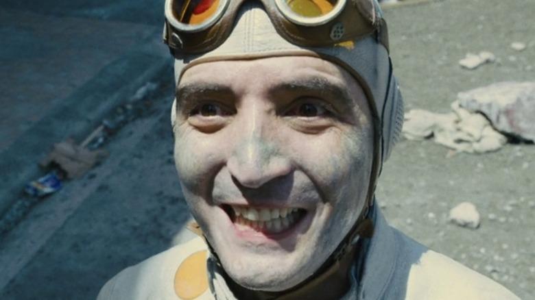 Polka-Dot Man smiling