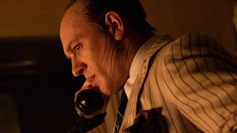 Tom Hardy as Al Capone in Capone