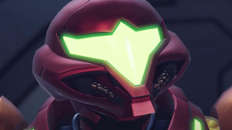 Samus in Metroid Dread