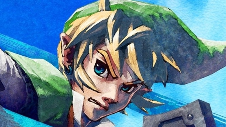 Link with crystal
