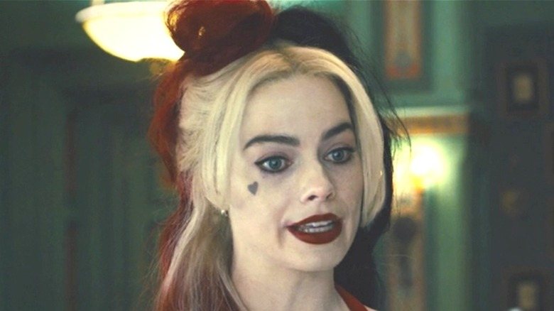 Robbie as Harley Quinn in The Suicide Squad