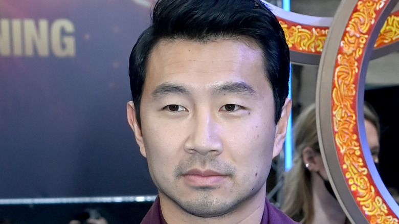Simu Liu at Shang-Chi premiere