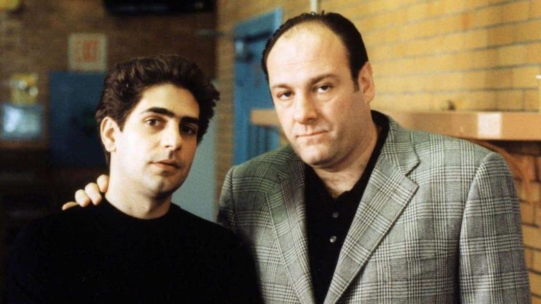 Christopher Moltisanti and Tony Soprano