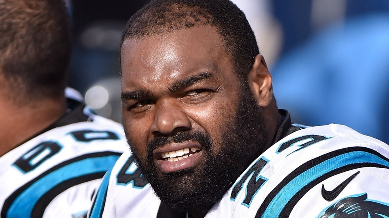 Michael Oher smiling
