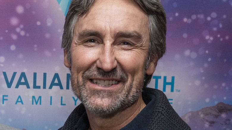 Mike Wolfe smiling