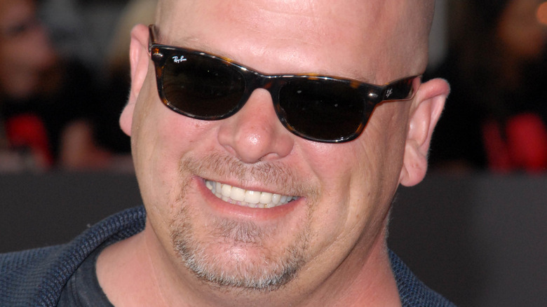 Rick Harrison smiling