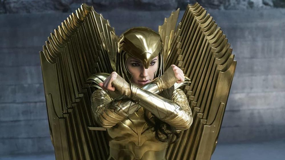 Gal Gadot stars as the titular superhero in Wonder Woman 1984