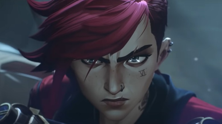 Vi angry in Arcane