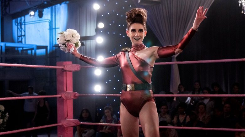 Alison Brie gets in the ring as Ruth on GLOW