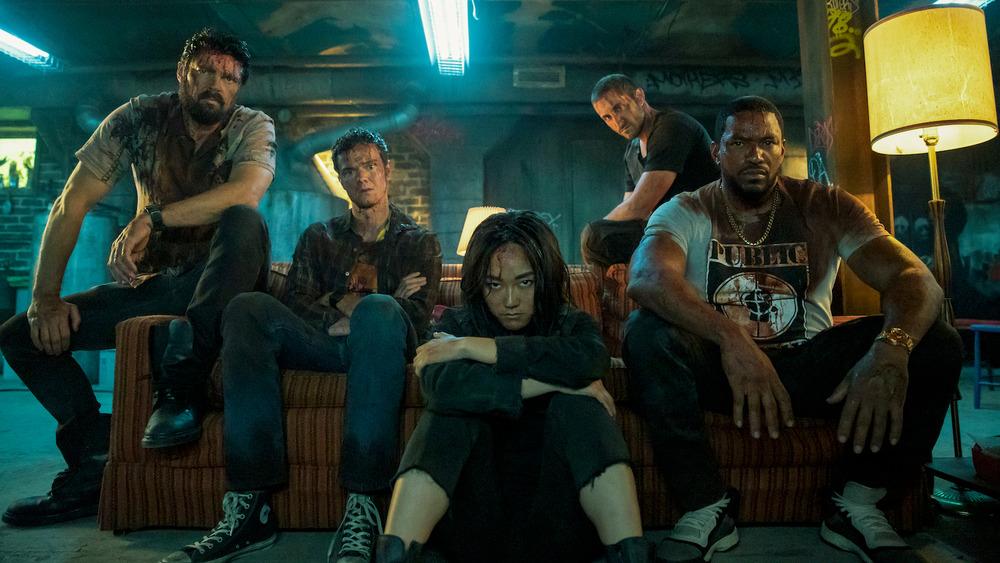 Karl Urban, Jack Quaid, Karen Fukuhara, Tomer Kapon, and Laz Alonso on The Boys