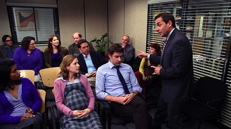 How Pam's Delivery Episode Of The Office Was Almost Very Different