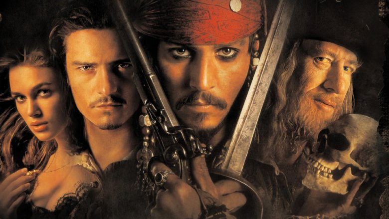 Pirates of the Caribbean poster art