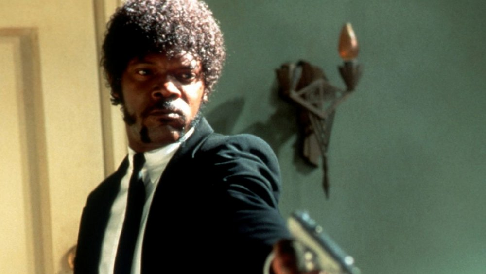 Samuel L. Jackson as Jules Winnfield in Pulp Fiction