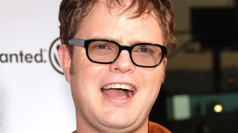 Rainn Wilson smiling