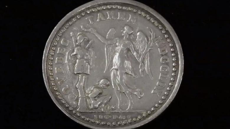 The Quebec Taken Medal in Pawn Stars