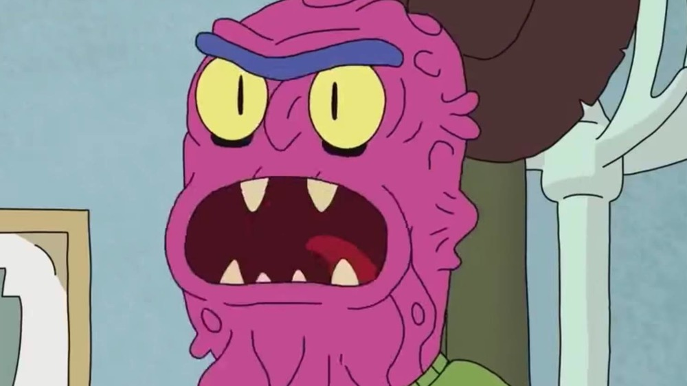 Rick and Morty Scary Terry