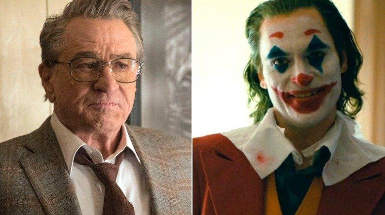 Robert De Niro and Joaquin Phoenix in Joker