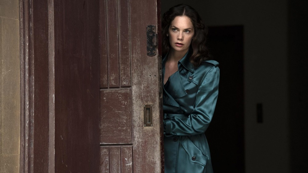 Ruth Wilson as Mrs. Coulter on His Dark Materials