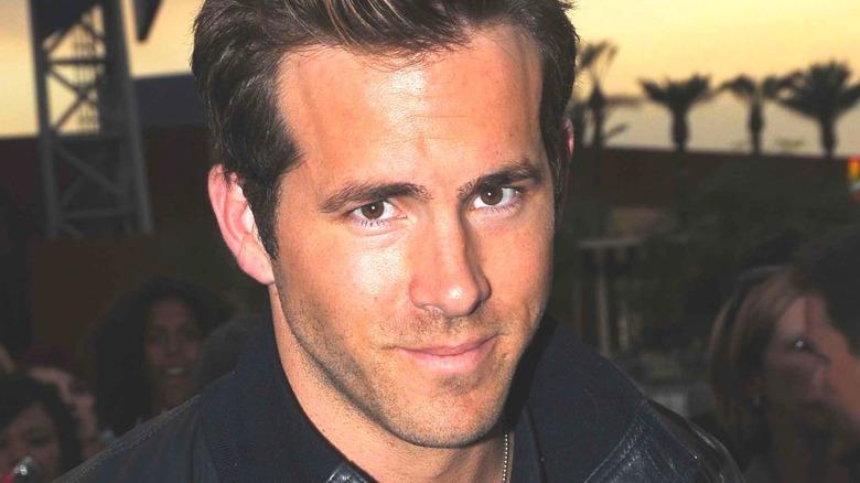 Ryan Reynolds smiling