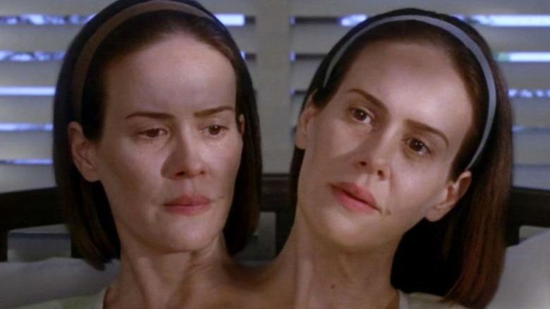 Sarah Paulson two heads