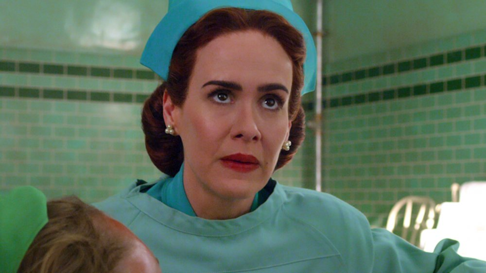 Sarah Paulson as Nurse Ratched on Netflix's Ratched