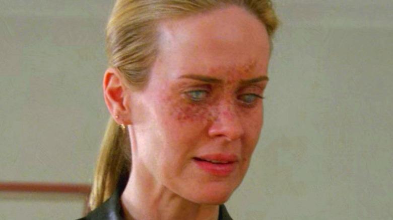 Sarah Paulson scary eyes