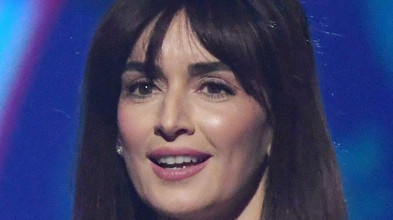 Ana de la Reguera smiling onstage