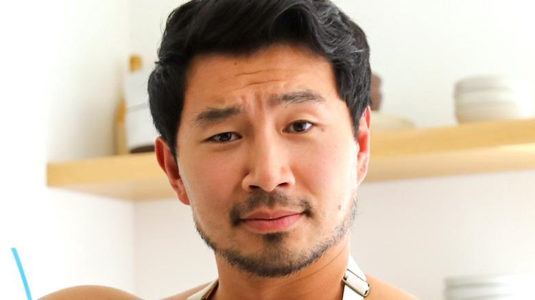 Simu Liu close-up