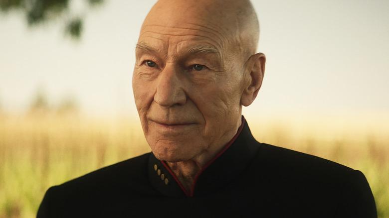 Sir Patrick Stewart as Captain Jean-Luc Picard on Star Trek: Picard
