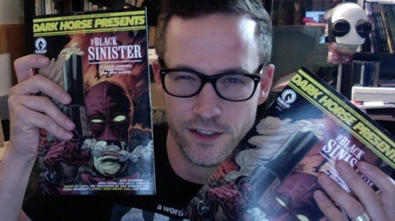 Kaare Andrews with Black Sinister comics