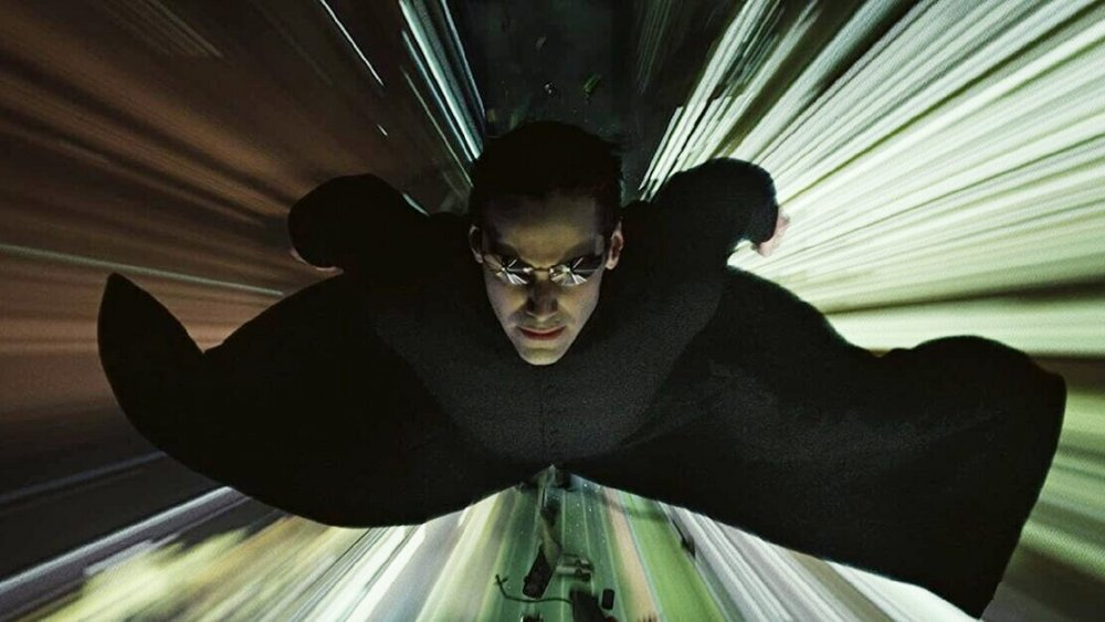 Keanu Reeves as Neo in The Matrix Reloaded