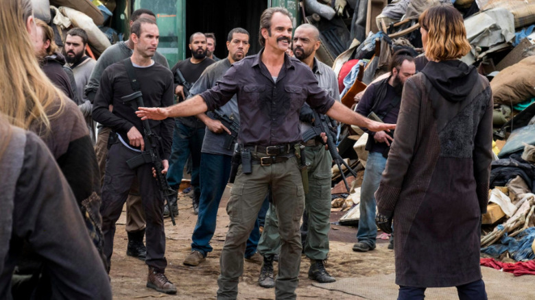 Steven Ogg as Simon on The Walking Dead
