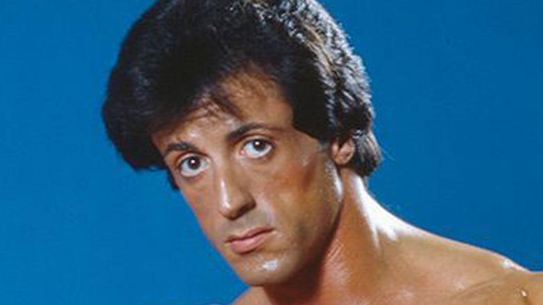 Rocky 3 Sylvester Stallone Face