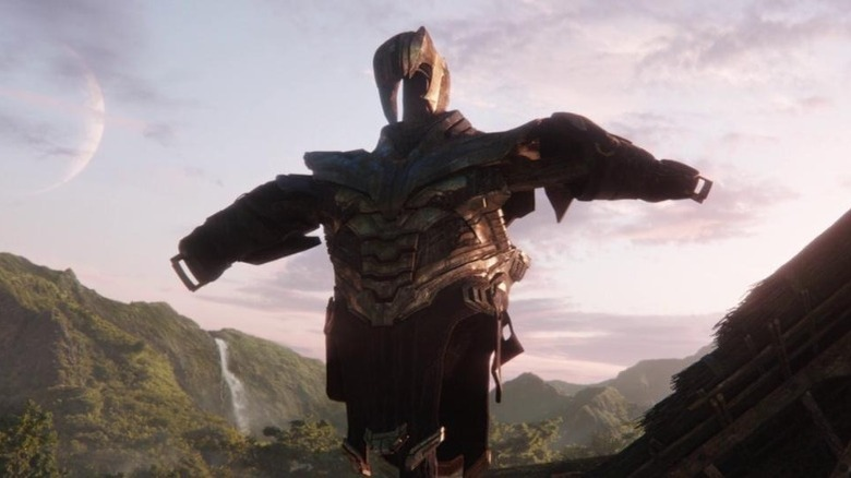 Thanos' retired armor