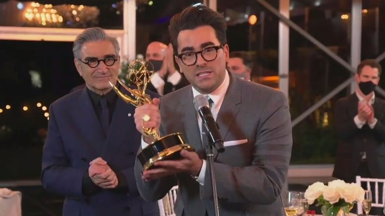 Dan Levy at the 2020 Emmys