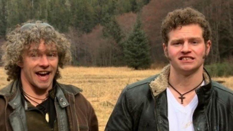 Alaskan Bush People Gabe and Matt