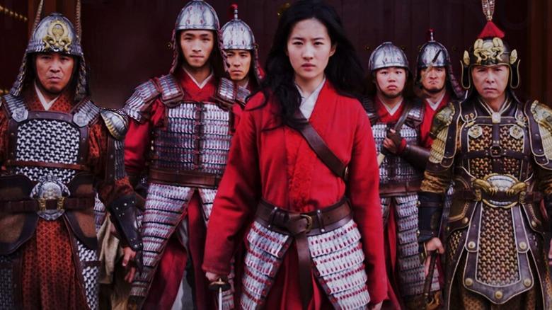 The cast of Mulan