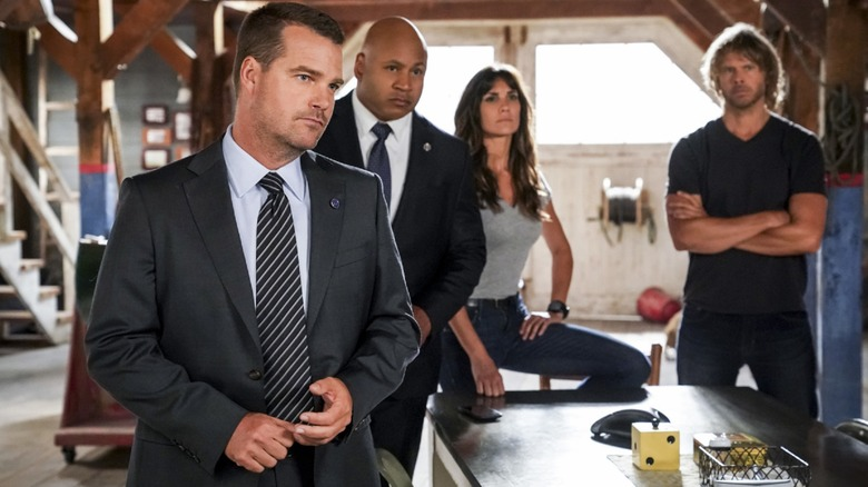 The cast of NCIS: Los Angeles