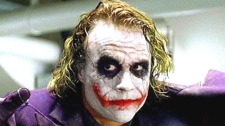 Heath Ledger as the Joker Dark Knight