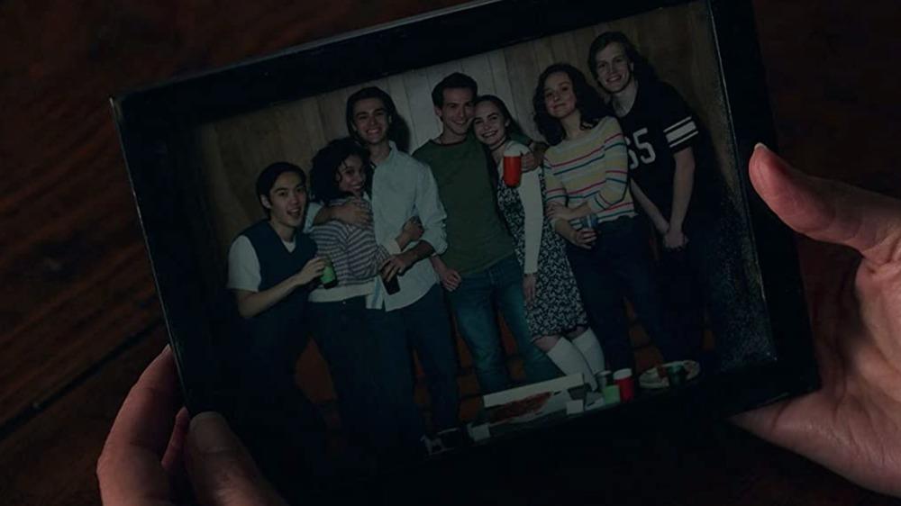 The Locke siblings' parents and their friends in Locke & Key