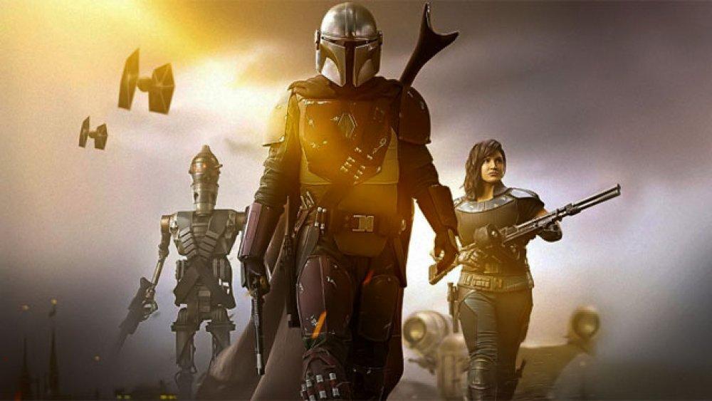 The Mandalorian promo image