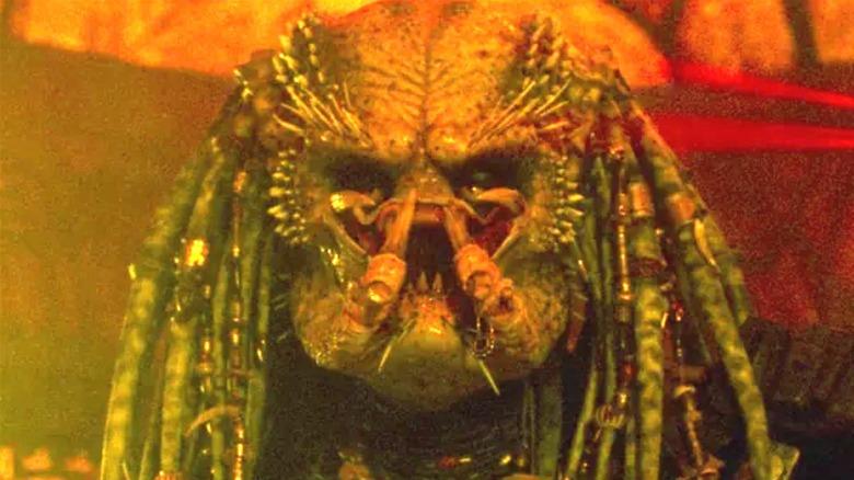 The Predator Elder stares down Harrigan