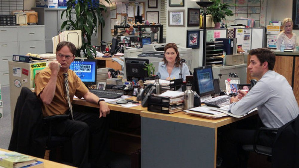 The cast of the final season of The Office