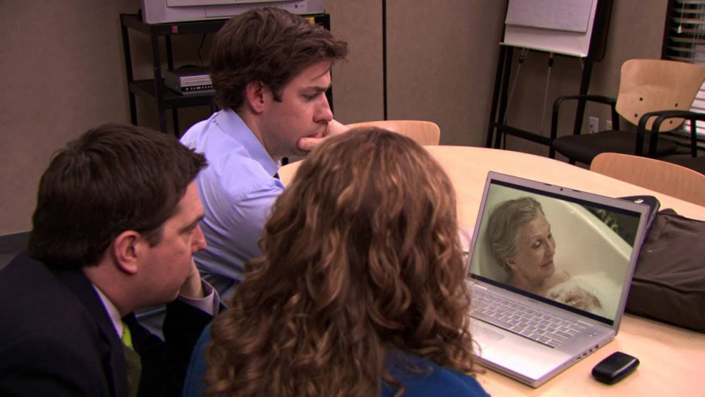 Scene from The Office