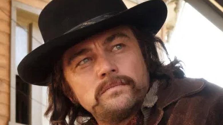 Rick Dalton wearing cowboy costume