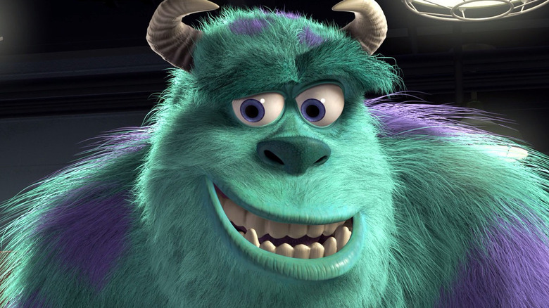 Sully smiling
