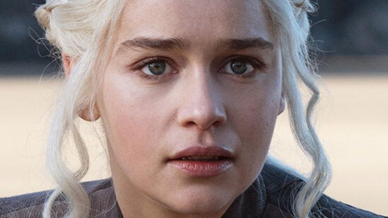 Emilia Clarke Daenerys Targaryen concerned
