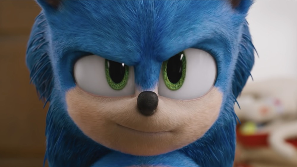 Sonic the Hedgehog movie version