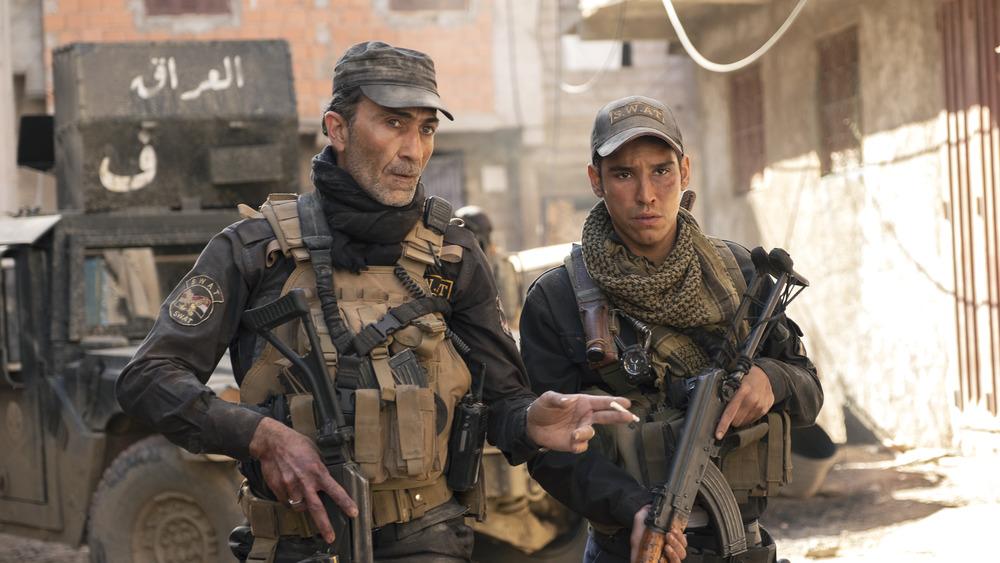 Suhail Dabbach and Adam Bessa in Mosul